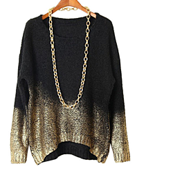 Black and Gold  oversize sweater