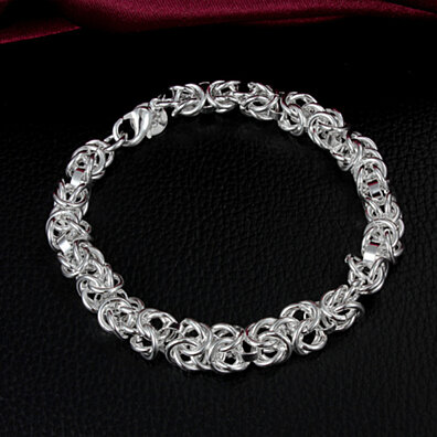 "S925 sterling silver ""COURAGE"" bracelet"
