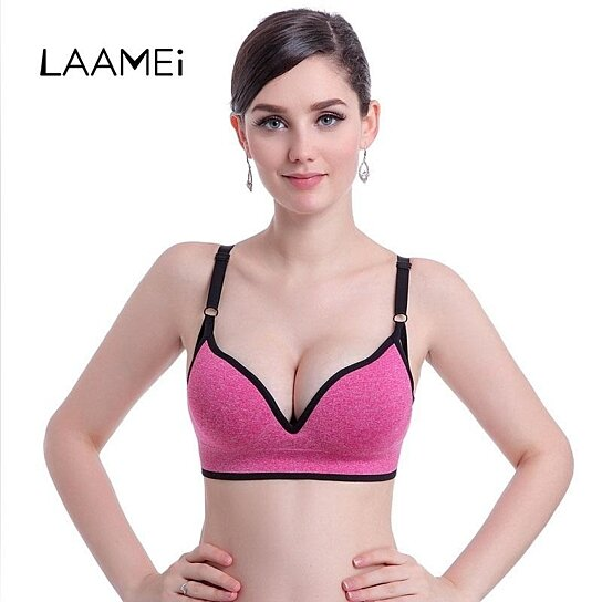 474ee1386e2 Trending product! This item has been added to cart 52 times in the last 24  hours. Laamei Sexy Women Bras With Padded Adjustable Strap Push Up ...
