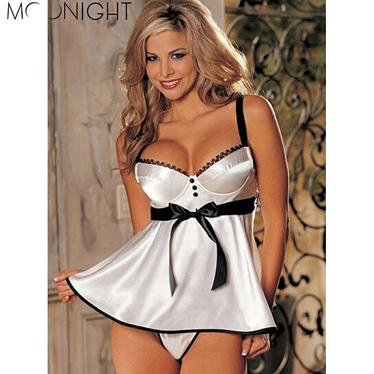 d639b6bbd68 Trending product! This item has been added to cart 9 times in the last 24  hours. MOONIGHT Hot Sale Sexy Lingerie Hot Women diaphanous ...