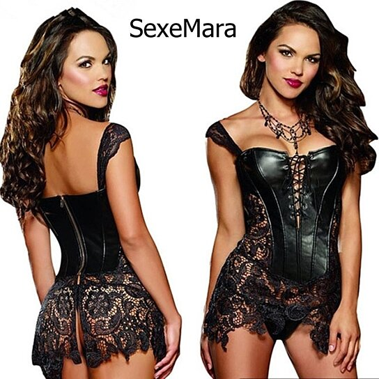d3223554c3c Trending product! This item has been added to cart 48 times in the last 24  hours. Nightclub plus size sexy lingerie ...