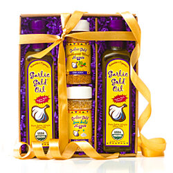 Exclusive Garlic Gold Oil & Nuggets Gift Set