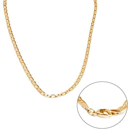 eeeba9968 Buy 18K Gold Plated Gold Gucci Link Chain Necklace by SGS International on  OpenSky