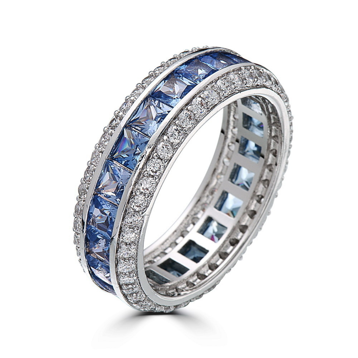 Sapphire Stripe Ring 5