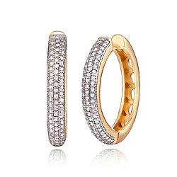 10d5a63d3 Buy Sterling Silver Diamond-Cut Round Hoop Earrings, 15mm by ...