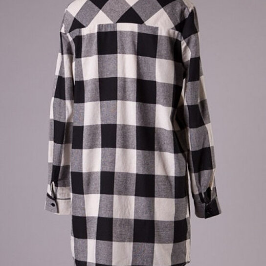 Buy Mad For Plaid Oversized Buffalo Check Button Down