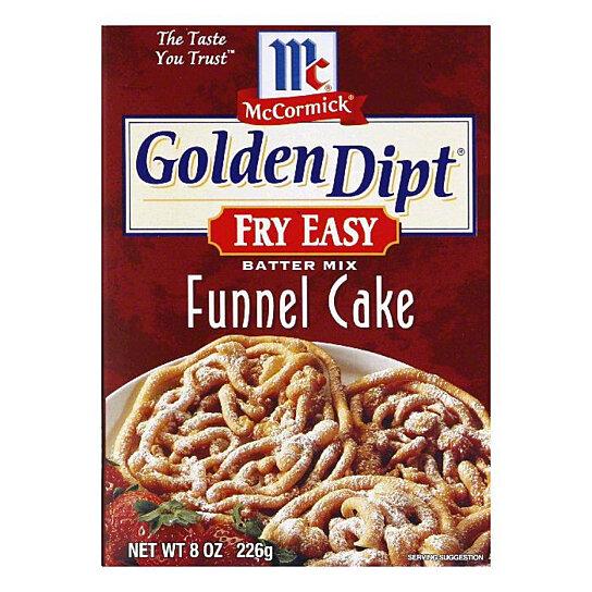 Mccormick Funnel Cake Mix