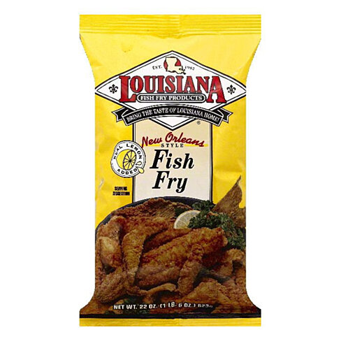 Buy Louisiana New Orleans Style Fish Fry, 22 OZ (Pack of 12) by ...