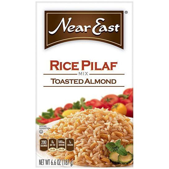 Buy Near East Toasted Almond Rice Pilaf Mix 6.6 Oz (Pack of 12) by ...
