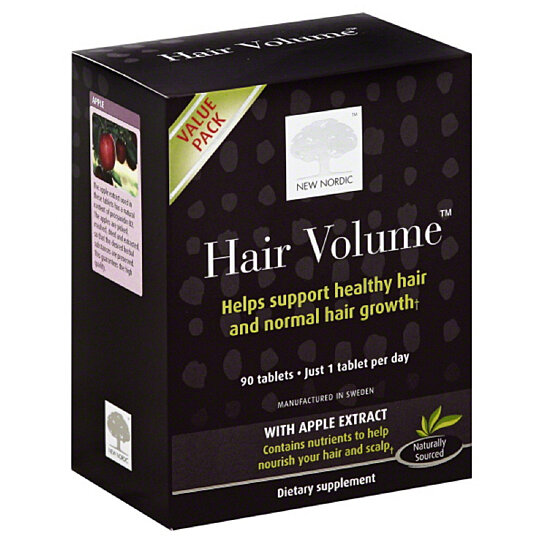 Buy New Nordic Value Pack Tablets Hair Volume, 90 Tb by shopGourmet ...