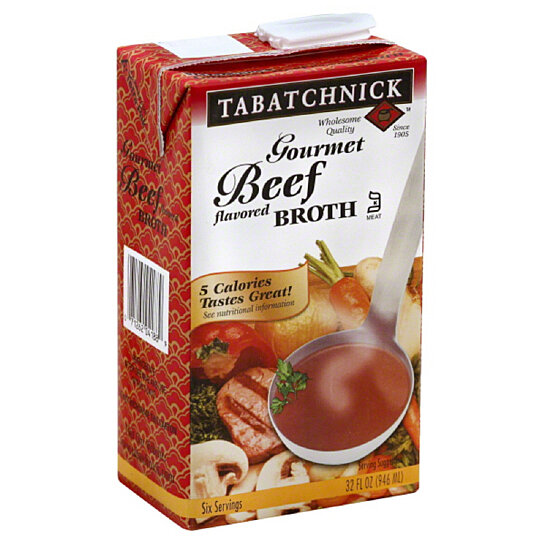 Buy Tabatchnick Gourmet Beef Flavored Broth, 32 Oz (Pack of 12) by ...