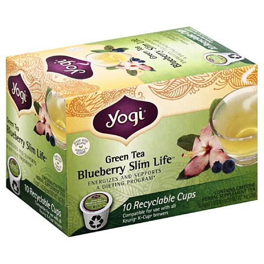 Blueberry slim life green tea