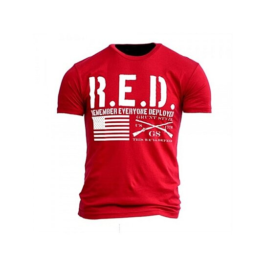 Buy grunt style the red shirt t shirt by shophydra on opensky for The red t shirt company