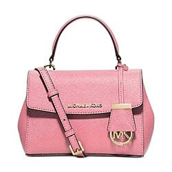 MICHAEL Michael Kors Ava Xs Crossbody Saffiano Leather 18K