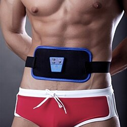 AB Gymnic Electronic Body Muscle Arm leg Waist Abdominal Massage Exercise Toning Belt Slim Fit