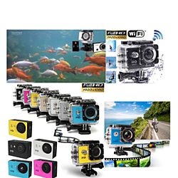WIFI wireless SJ4000 Waterproof Sports DV 1080P HD Video Action Camera Camcorde