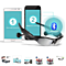 Universal Wireless Sunglasses Bluetooth Stereo Headset Hands-Free Phone (Color: Black)
