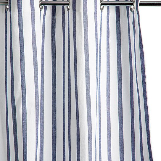 Buy Thin Stripe Shower Curtain By Shopninespace On Opensky