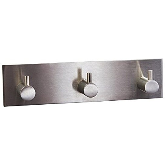 Buy X Sunshine Stainless Steel Modern Three Hooks Wall Hooks For Bathroom Bed