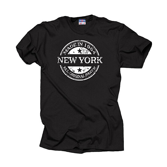 Buy Anniversary T Shirt Made In 1964 New York All Original
