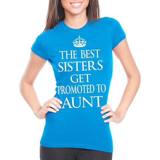 Buy Baby Announcement Aunt Womens T Shirt Baby Shower T Shirt Gift
