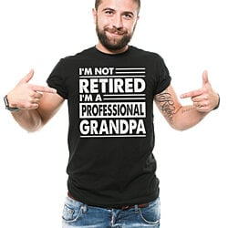 Grandpa T-Shirt Funny Gift For Grandfather Retired Grandpa Gift Shirt