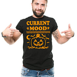 Halloween Costume T-Shirt Funny Halloween Pumpkin Costume Tee Shirt