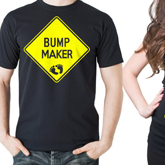 We at Silk Road Tees offer wide variety of super cool Couple maternity t-shirts for future dad and mom, Our Tees are proudly printed in Brooklyn, New York, USA.
