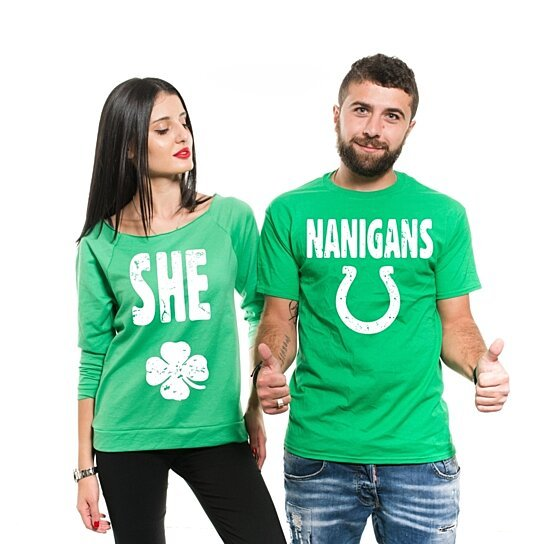 c8c71ccd8 to cart 47 times in the last 24 hours. Shenanigans Couple T-Shirts Funny St  Patrick's Day ...