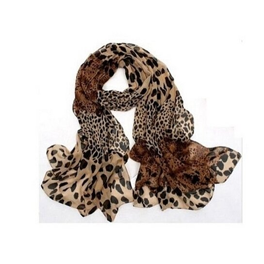 buy animal print scarf by silvermoonbay on opensky