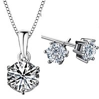 Swarovski Jewelry Set (Color Choices)