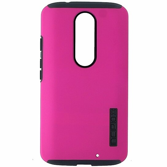 new style 46c9f c5f51 Incipio DualPro Two Piece Protective Case Cover Motorola Droid Turbo 2 -  Pink