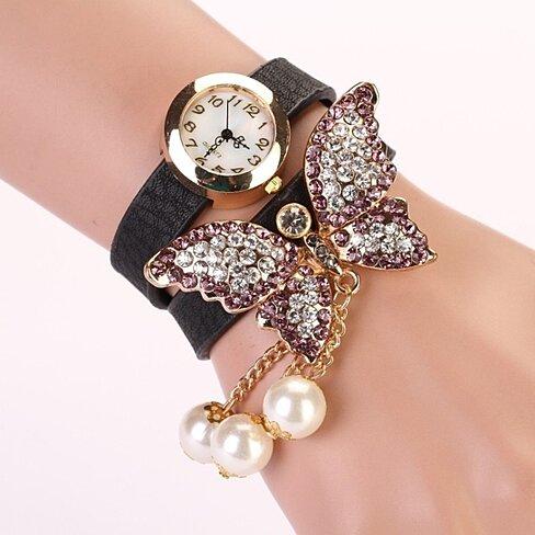 Buy Vintage Fashion Butterfly Bracelet Watch By Simplityfashion On Opensky