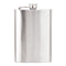 Party Bar Accessories Stainless Steel Flask with Hinged Safety Cap
