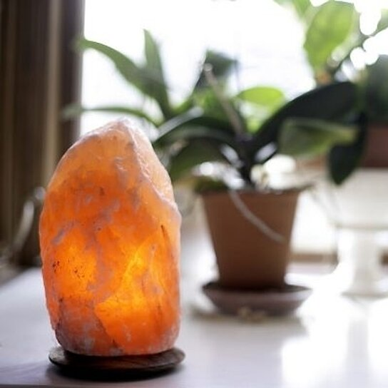 Himalayan Salt Lamps For Babies : Buy So Well Himalayan Salt Crystal Light w/Dimmer Cord (5-7lbs) by So Well on OpenSky