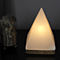 So Well White Himalayan Salt Pyramid Light