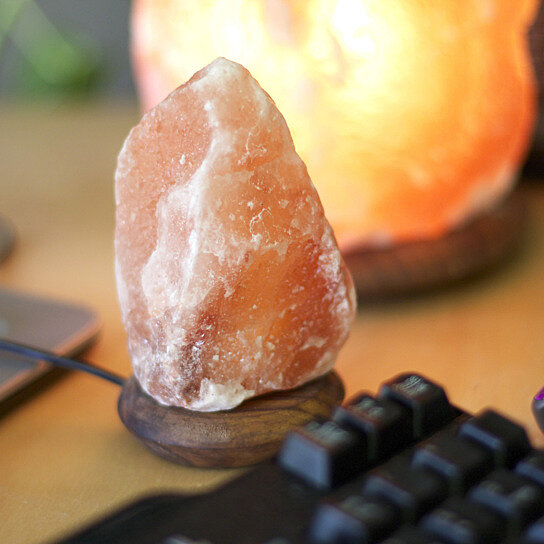 Salt Lamps For Computers : Buy USB So Well Fair trade Computer Companion Himalayan Salt Crystal Light by So Well on OpenSky