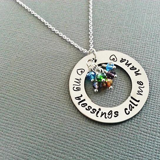 buy personalized nana necklace personalized jewelry grandmother