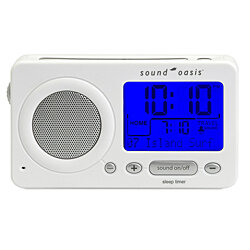 Sound Oasis® Travel Sleep Sound Therapy System (White)