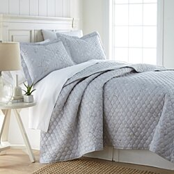 Myosotis Scorpioides 100% Cotton Sateen Ultra-Luxurious & soft Quilt Set