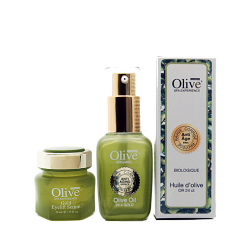 Olive oil facial products
