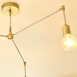 Triad Modern Brass Chandelier