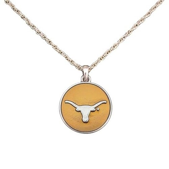 Buy texas longhorns translucent enamel orange silver charm for Jewelry stores in texas