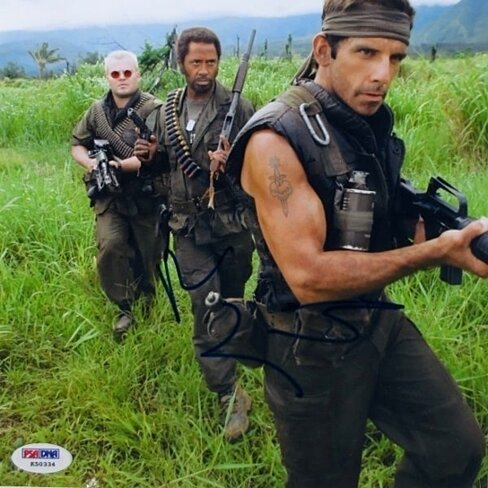 Buy Ben Stiller Signed Tropic Thunder 8x10 Photo PSA ...