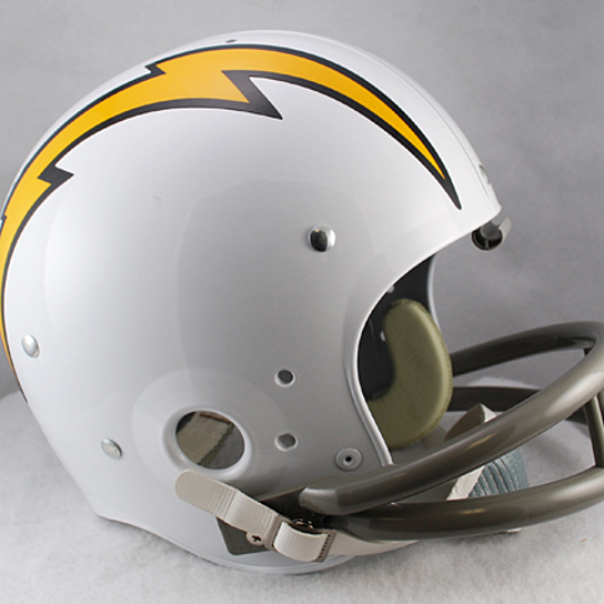 Buy San Diego Chargers 1961 To 1973 Tk Throwback Football