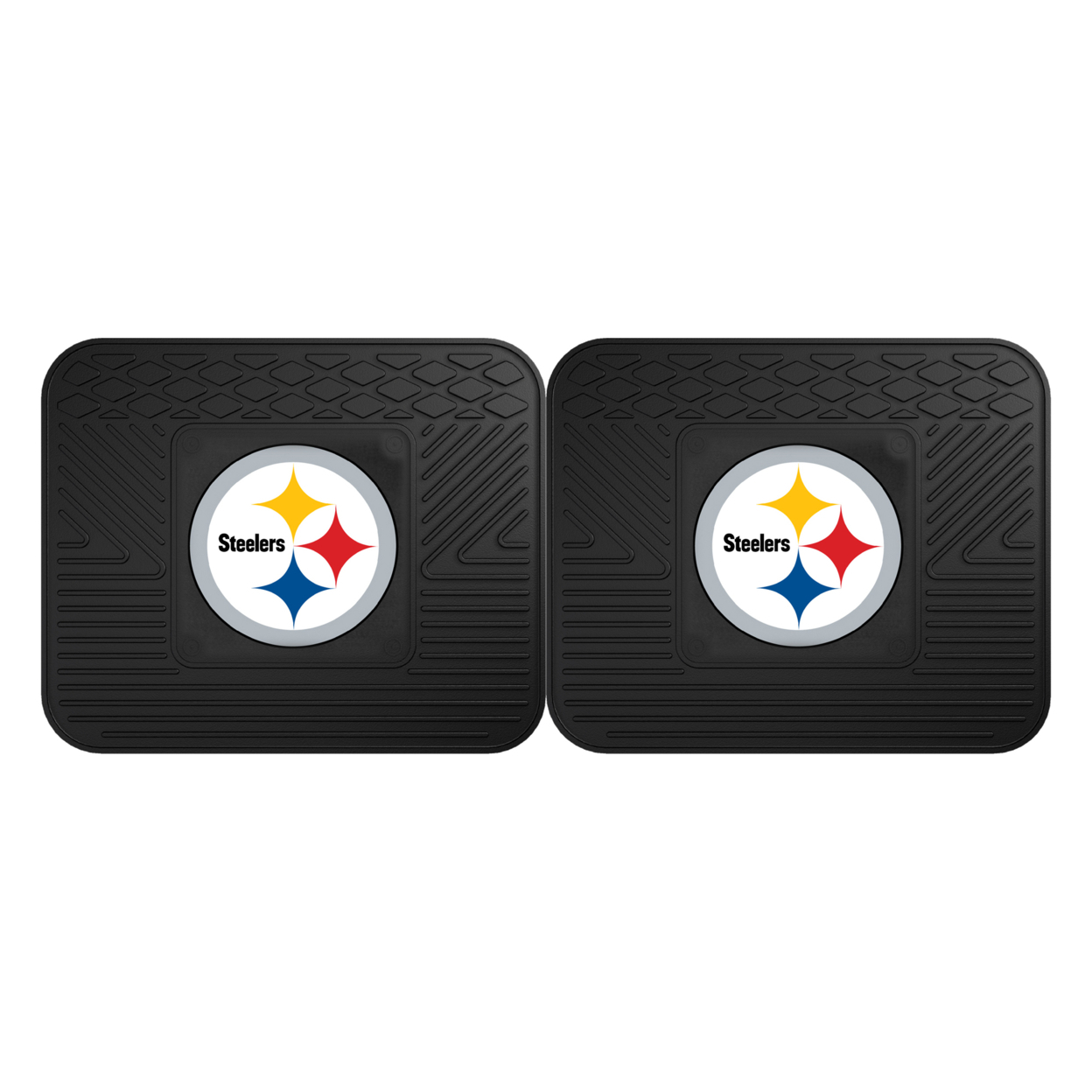 Nfl- Pittsburgh Steelers 2 Utility Mats 56a13e31a3771c73738bdbd2