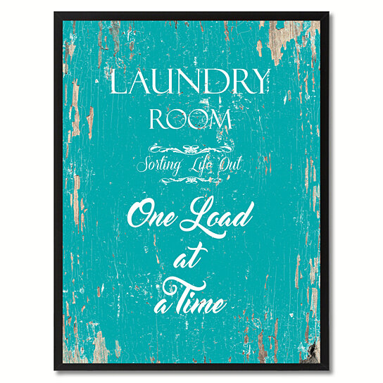 Buy Laundry Room Sorting Life Out One Load At A Time Quote Saying