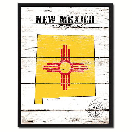 new mexico state flag coloring page - buy new mexico state flag canvas print with picture frame