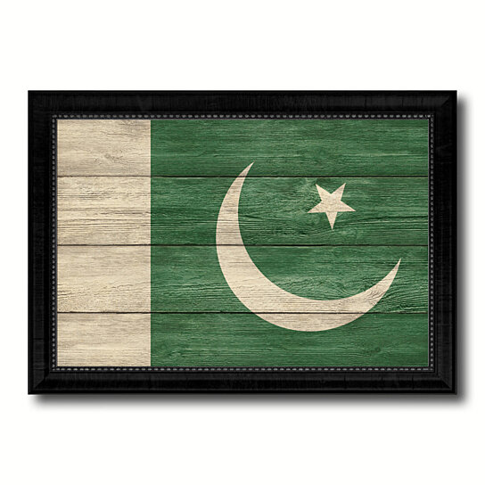 Buy Pakistan Country Flag Texture Canvas Print With