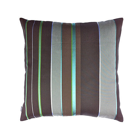 Modern Square Pillow Pull : Buy SALE!! Maharam Repeat Stripe Peacock - Modern Pillow by Square Modern on OpenSky
